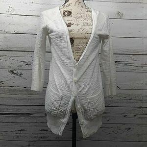 Mossimo sz M white cardigan